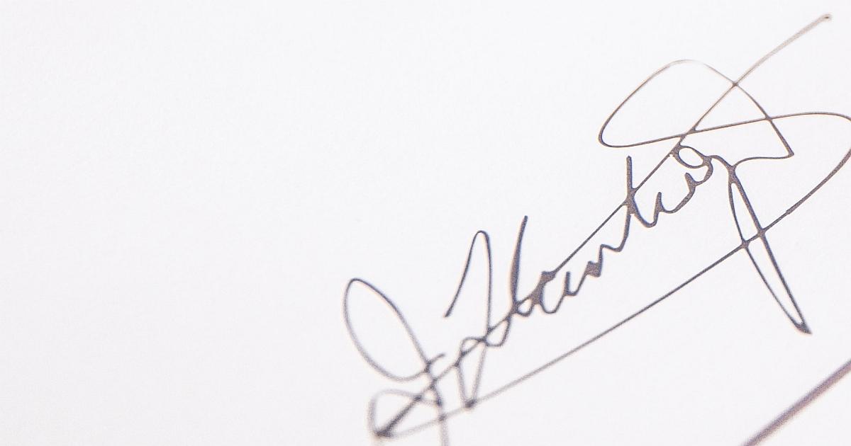 certificado de autenticidad de autógrafos de famosos