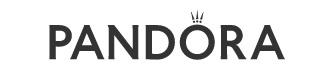 logo tradicional exclusiva marca pandora